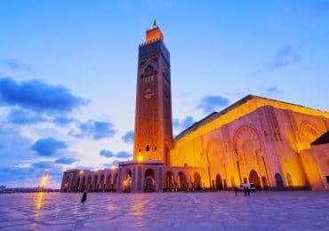 Hassan II Mosque in Casablanca